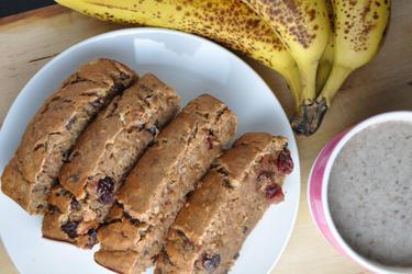 Pão saudável de banana light (sem açúcar)