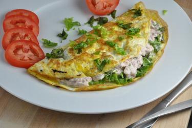 Omelete de atum fit