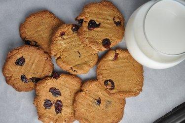 Melhores cookies de grão-de-bico light (sem glúten)
