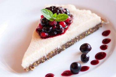 Cheesecake saudável vegana e crudívora (sem glúten)