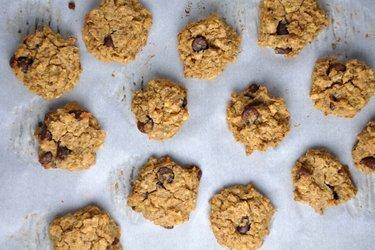 Cookies macios de grão-de-bico