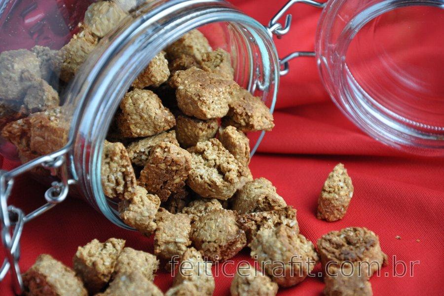 Cookies de gengibre saudáveis