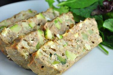 Omelete de atum fit assada
