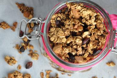 Granola crocante sem óleo e sem açúcar
