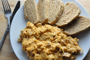 Goulash Szegedin saudável com farinha de trigo integral