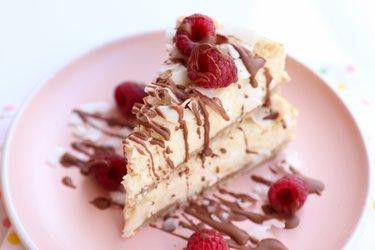A melhor cheesecake fit