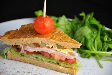 Sanduíche de atum saudável (sem glúten)
