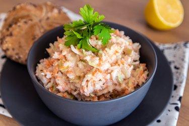 Salada de repolho light saudável
