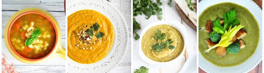 Receitas de sopas com baixas calorias para emagrecer