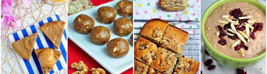 Receitas saudáveis de sobremesas com manteiga de amendoim