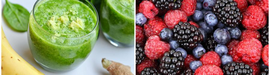 Receitas de smoothies e drinques low carb