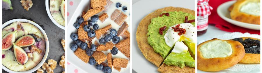 Receitas saudáveis para o café da manhã