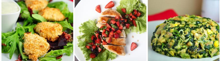 Receitas de frango com alto teor de proteína