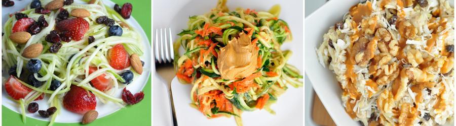 Receitas veganas saudáveis com abobrinha
