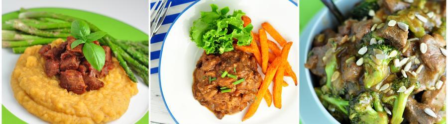 Receitas de carnes com alto teor de proteína