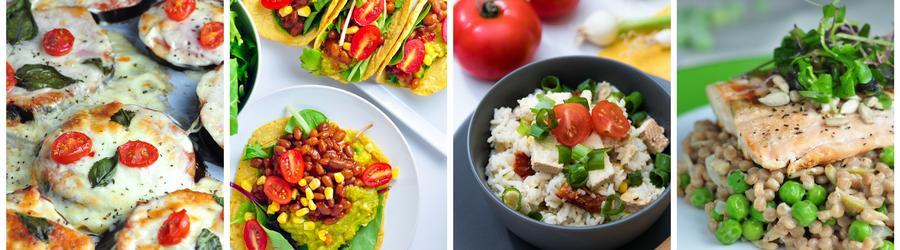 Receitas saudáveis e fáceis para o almoço e jantar