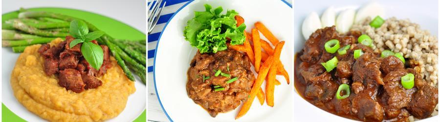 Receitas de carne com baixo teor de gordura