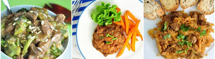 Receitas de carne com poucas calorias para emagrecer