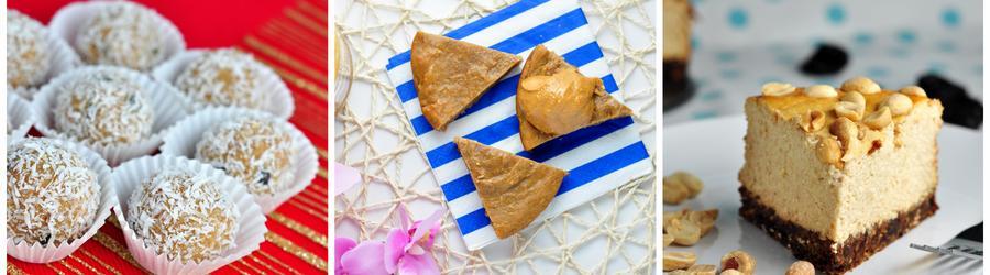 Receitas com manteiga de amendoim e alto teor de proteína