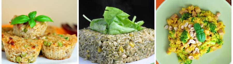 Receitas low carb com arroz