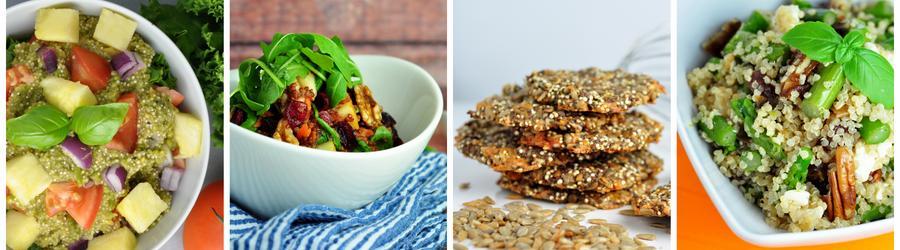 Receitas veganas saudáveis com quinoa