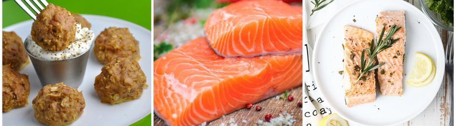 Receitas low carb com salmão
