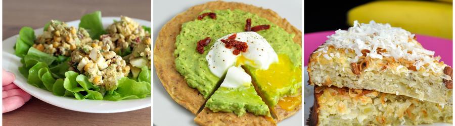 Receitas sem glúten saudáveis com ovos