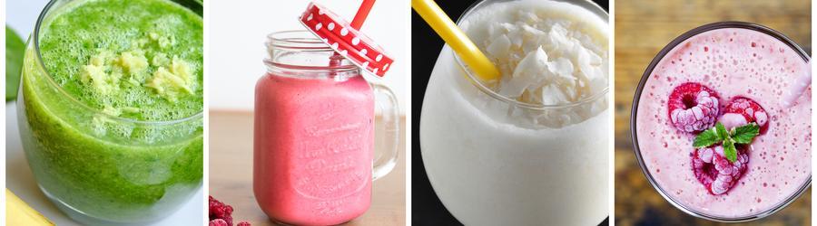 Receitas de smoothies e drinques