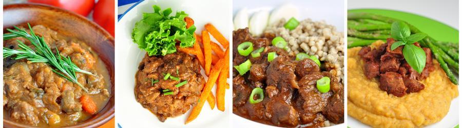 Receitas saudáveis e fáceis com carne