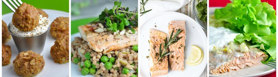 Receitas saudáveis e fáceis com salmão