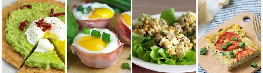 Receitas fáceis e saudáveis com ovos