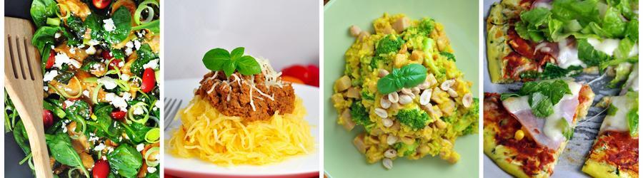Receitas saudáveis e fáceis com vegetais