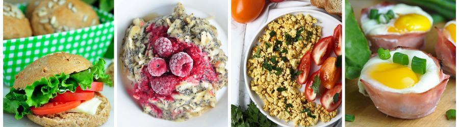 Receitas saudáveis sem lactose para o café da manhã