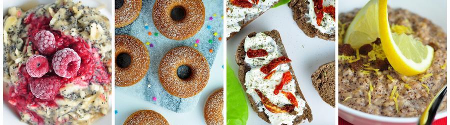 Receitas veganas saudáveis para o café da manhã