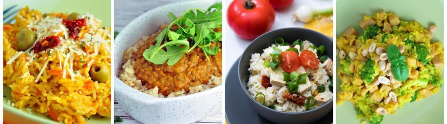 Receitas saudáveis com arroz para o almoço e jantar