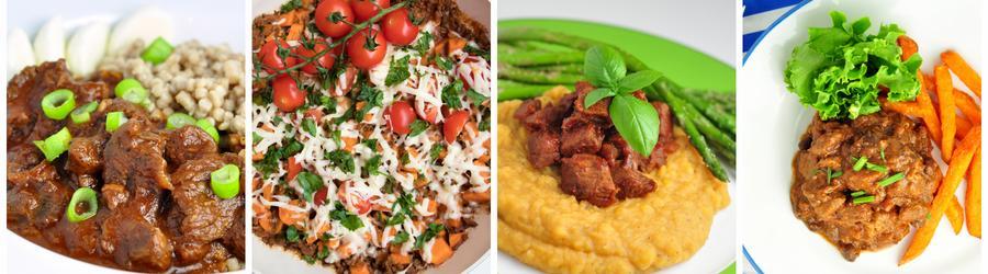Receitas saudáveis com carne para o almoço e jantar