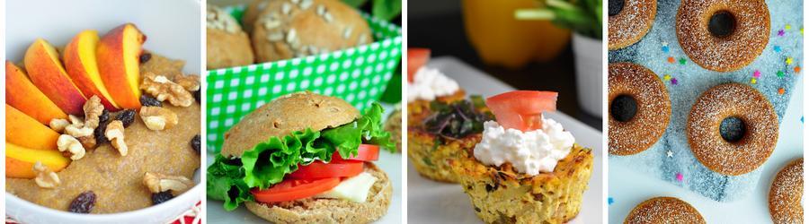 Receitas sem ovos saudáveis para o café da manhã