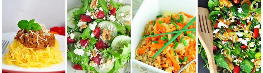 Receitas com vegetais para o almoço e jantar