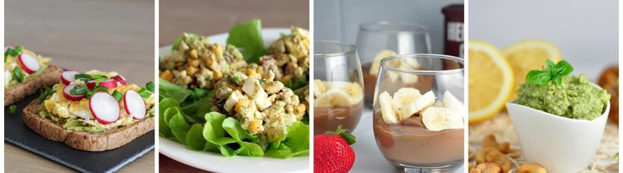 Receitas saudáveis com abacate para o café da manhã