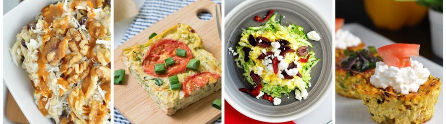 Receitas saudáveis com abobrinha para o café da manhã