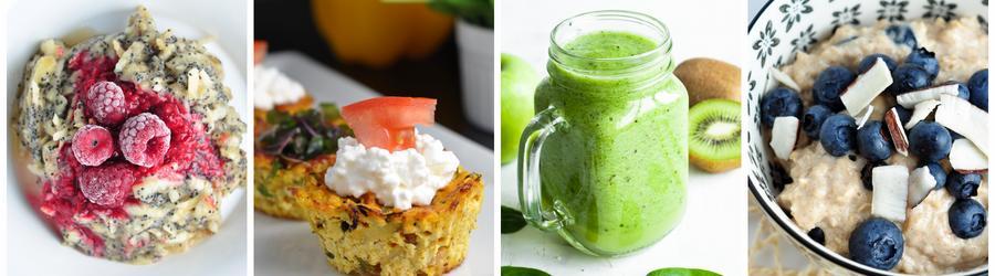 Receitas light para um café da manhã com poucas calorias