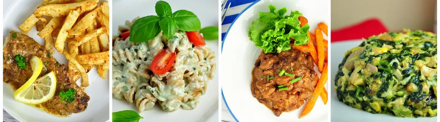 Receitas com alto teor de proteína para o almoço e jantar