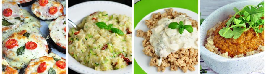Receitas vegetarianas para o almoço e jantar - Sem carne