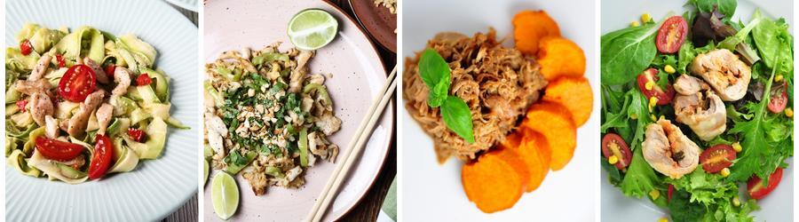 Receitas saudáveis com frango para almoço e jantar