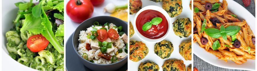 Receitas vegetarianas (sem carne)
